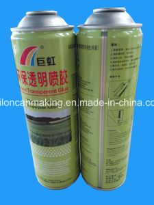 Empty Tin Cans for Adhesive Glue Spray pictures & photos