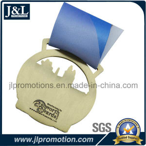 Custom Event Medal in Antique Brass Plated pictures & photos