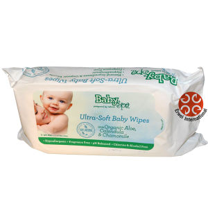 Soft Gentle Baby Wipes 80PCS Wet Wipes with Cover Organic Bamboo Wipes pictures & photos