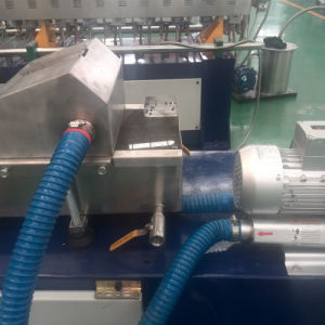 Lab Twin Screw Extruder of PLC Control pictures & photos