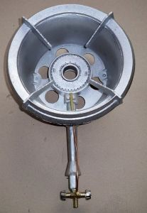 Cast Iron Plumbing LPG Natural Gas Burner with Valve pictures & photos