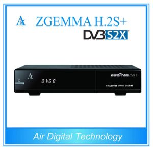 2017 New Decoder Zgemma H. 2s Plus with Triple Tuner DVB-S2+DVB-S2/S2X/T2/C Dual Core HD Satellite Receiver pictures & photos