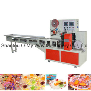 Flat Lollipop Candy Pillow Packaging Machine pictures & photos