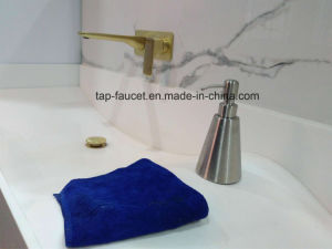 Different Capacity Oval Shape Sleek Ss304 Soap Dispenser Pump pictures & photos