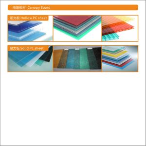 Polycarbonate /Glass /Easy to Install /Simple Awning for Doors and Windows /Sunshade pictures & photos