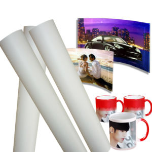 75GSM Fast Dry Sublimation Transfer Paper for Epson/Mimaki/Roland/Mutoh Printer pictures & photos