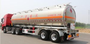 Special Desiel Engine 50cbm Aluminium Alloy Tanker pictures & photos