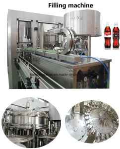 Complete Turn-Key Beverage 3-in-1 Carbonated Soft Drink Filling Machine pictures & photos