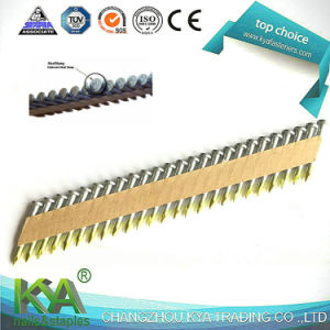 34 Degree Galvanized Paper Tape Collated Joist Hanger Nails pictures & photos