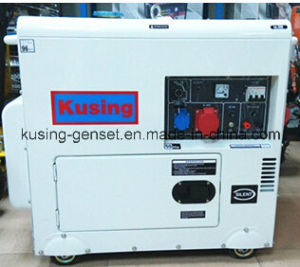 6.5kVA Protable Diesel Silent Gererator Engine (K7500A) pictures & photos