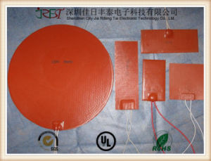 Silicone Rubber Heating Plate with Thermostat Controller pictures & photos