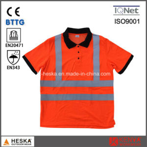 High Visibility Safety Traffic Clothing En20471 Reactive Polo-Shirt pictures & photos