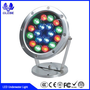 IP68 Plastic 12V LED Swimming Pool 10W 18W 24W LED Underwater Light pictures & photos
