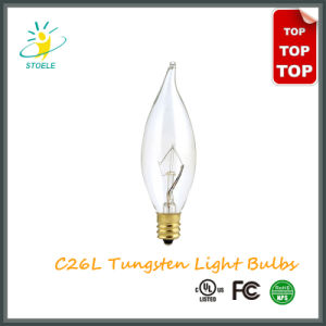 C9/C26 15W Incandescent Bulb String Lighting Tungsten Filament Candle Bulbs