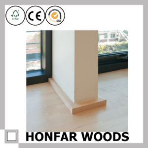 """Japanese Style 1-1/3""""X1-1/3"""" Wood Skirting for Building Material pictures & photos"""