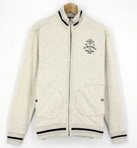 2017 Men Fashion Zip up Through Sweatshirt Fleece Jacket Top Clothing Sportswear pictures & photos