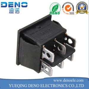 16A/250V 20A/125V AC Double Pole Single Throw Dpdt Rocker Switch pictures & photos
