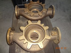 CNC Machined Bronze Pump Body by Drawings pictures & photos