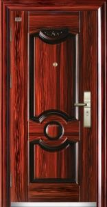 Steel Security Assemble Fashion Door pictures & photos