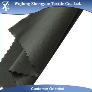 Woven RPET 75D Recycle Polyester 4 Way Stretch Spandex Fabric for Garment Pants pictures & photos