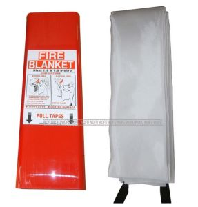 High Quality 100% Fiberglass Kitchen Fire Blanket pictures & photos