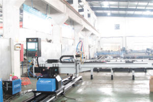 Fixed Arm Cutting Machine Cutting 2300mm Width CNC Plasma Machine pictures & photos