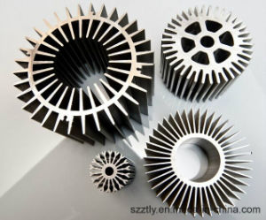 Anodizing Aluminium Extrusion Profile Heatsink pictures & photos