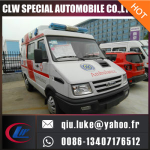 Nj1044cfcz Long Wheelbase Box-Type Ambulance for Sale pictures & photos