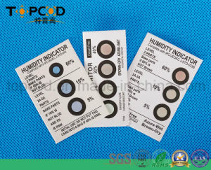 Hic Humidity Indicator Sensor Card Without Cobalt pictures & photos