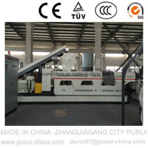 Plastic Granulator with Side Force Feeder for Russia (SJ150/SJ150) pictures & photos