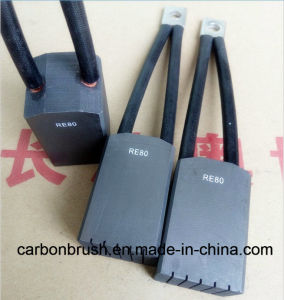 China National Standard Grade RE80 Carbon Brush for Starter Motor pictures & photos