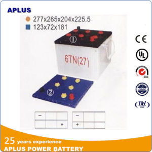 6tn Dry Charge Lead Acid Storage Battery 12V100ah for Tank pictures & photos