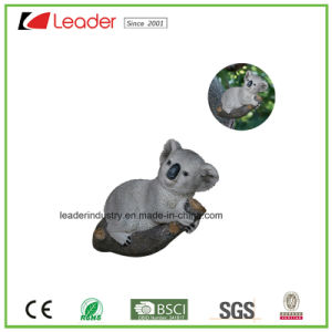 Hand Painted Polyresin Squirrel Bird Feeder Figurine for Tree Decoration and Garden Ornaments pictures & photos