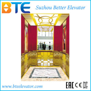 Vvvf Traction Gearless Passenger Elevator for Commercial Building