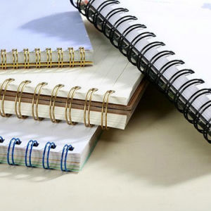 Double Loop Book Binding Spiral Wire pictures & photos
