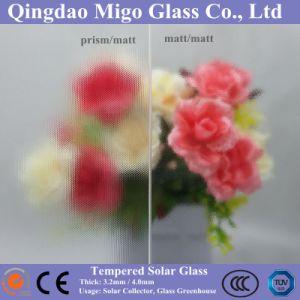 3.2mm 4mm Low Iron Matt/Matt Solar Glass pictures & photos