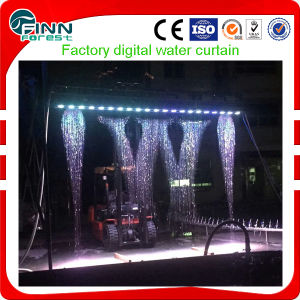 Water Writing Logo Display Digital Water Curtain pictures & photos