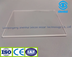 Polished Optical Clear Quartz Glass Plate pictures & photos