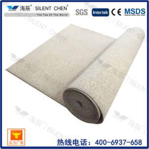 Sound Isolation Cork Underlay for Carpet Flooring (Cork30) pictures & photos