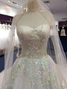 Aolanes Own Design Gorgeous Princess Wedding Dress pictures & photos