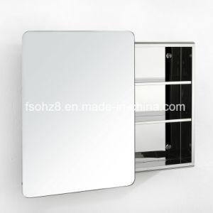 Bathroom Accessories Left or Right Door Mirror Cabinet (7008) pictures & photos