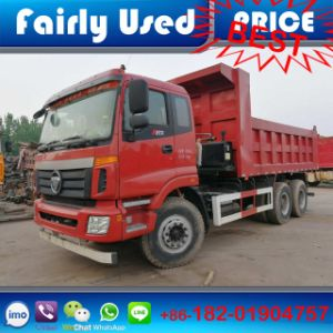 Low Price Used Foton 6X4 Dump Truck of Tipper Truck