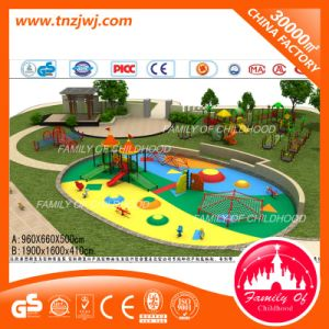 Outdoor Playground Slide Type Climbing Playground Net pictures & photos