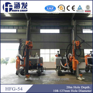 Hydraulic Crawler DTH Rock Drill Rig for Blast-Hole Drilling (HFG-54) pictures & photos