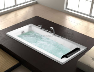 Rectangle Embedded Massage Bathtub 1HP for 1 Perosn (K1722) pictures & photos