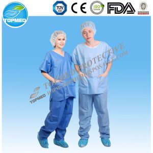 Hopspital Medical Scrubs Suits 2 Pieces Uniform pictures & photos
