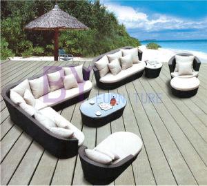 Summer Romanric PE Rattan Sofa pictures & photos
