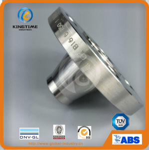 ASME B16.5 A182 F304 Stainless Steel Weld Neck Flange Forged Flange (KT0209) pictures & photos