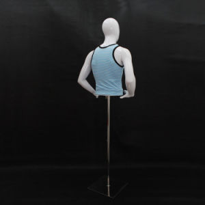 Male Half Body Mannequin for Store Dress pictures & photos