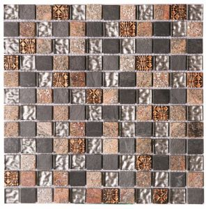 Mosaic Pattern Natural Marble Stone Mosaic for Bathroom Flooring Tile pictures & photos